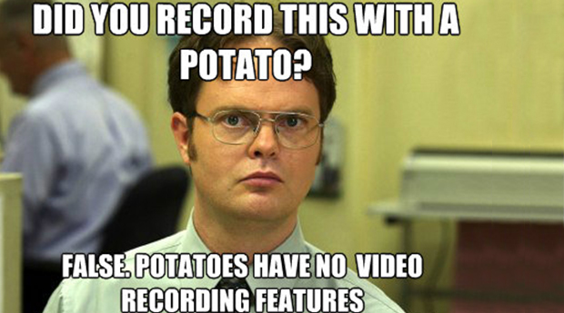 Dwight-Record-with-Potato